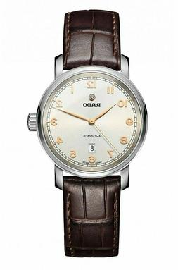 $1700 Rado DiaMaster Womens Brown Leather Swiss Made Automat