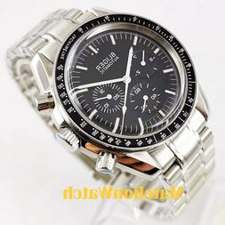 Bliger 40mm week date indicate Multifunction Automatic men's