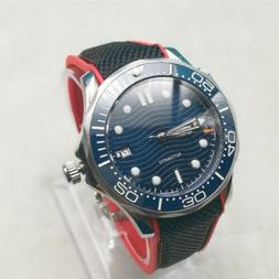 Bliger 41mm Blue Sterile Dial Sapphire Glass Pottery Date Au