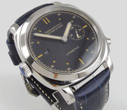 PARNIS 44MM Black Dial Stainless Steel Automatic Movement Me