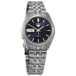 Seiko 5 Automatic Blue Dial Men's Watch SNK357