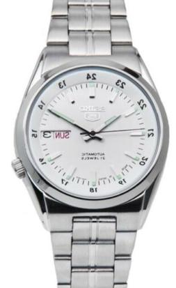 Seiko 5 Automatic SNK559J1 White Dial Stainless Steel Men's