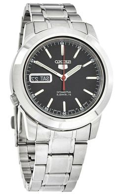 Seiko 5 Automatic SNKE53J1 Black Dial Stainless Steel Men's