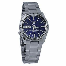 Seiko 5 Blue Dial Stainless Steel Men's Watch SNKD99