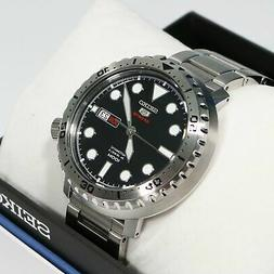 Seiko 5 Bottle Cap Automatic Stainless Steel Men's Watch SRP
