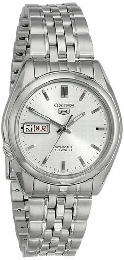 Seiko 5 SNK355 Automatic Silver Dial Stainless Steel 21 Jewe