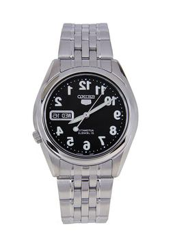Seiko 5 SNK381 Automatic Black Dial Stainless Steel 21 Jewel