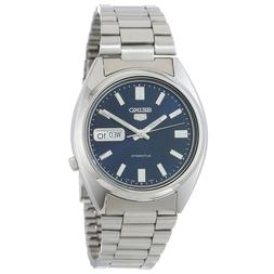 Seiko 5 SNXS77 Automatic Day-Date Blue Dial Stainless Steel