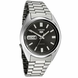 Seiko 5 SNXS79 Automatic 21 Jewels Black Dial Stainless Stee