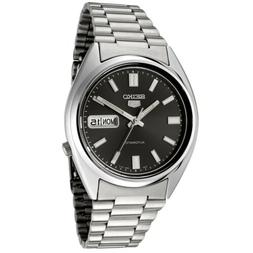 Seiko 5 SNXS79 Automatic Black Dial Stainless Steel Mens Wat