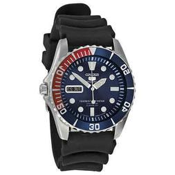 Seiko 5 Sports Automatic Blue Dial Pepsi Bezel Men's Watch S