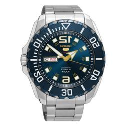 Seiko 5 Sports SRPB37 Men's Stainless Steel 100M Blue Dial A