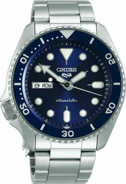Seiko 5 Sports SRPD51 blue dial Automatic Men's Watch USA De