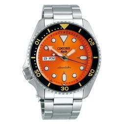 Seiko 5 Sports SRPD59 Orange dial Automatic Men's Watch USA