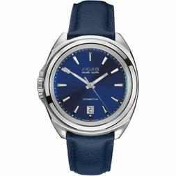 Bulova 63B185 Men's Telc Accu-Swiss Blue Automatic Watch