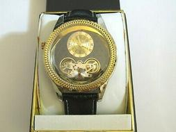 """Elgin Women""""s Stainless Steel Watch With Expandable Band And"""
