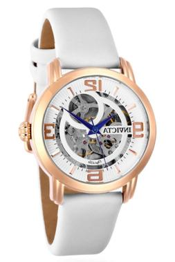 Invicta Women's Objet D Art Automatic Rose Gold Tone White S