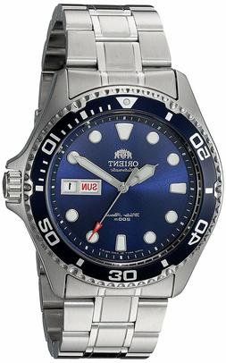 Orient FAA02005D Ray II Automatic Bue Dial Stainless Steel 2