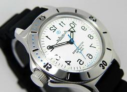 amphibian 420059 2416 military russian diver watch