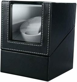 Automatic Rotation Watch Winder Leather Storage Display Case
