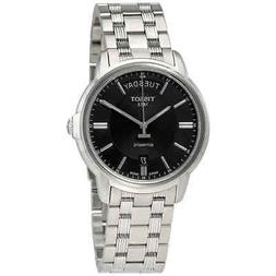 Tissot Automatics III Day Date Black Dial Men's Watch T065.9