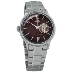 Orient Bambino Open Heart Red Dial Men's Automatic Watch RA-