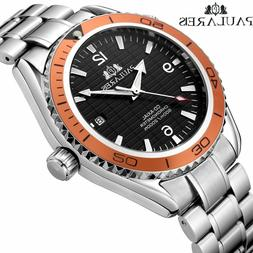 Best New Paulareis Men's Watch Automatic Mechanical Stainles