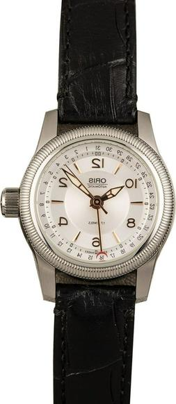 Oris Big Crown Pointer Date Automatic Silver Dial 30mm Women