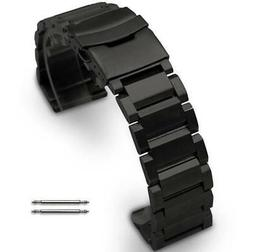 Black Metal Steel Replacement Band Strap Fits Nixon Watch Do