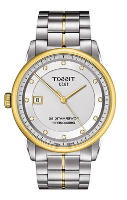 *BRAND NEW* Tissot Men's Automatic Diamond Dial Two Tone Wat