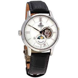 Orient Classic Sun and Moon Open Heart Automatic Silver Dial