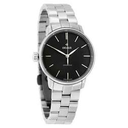 Rado Coupole Classic Automatic Black Dial Stainless Steel La