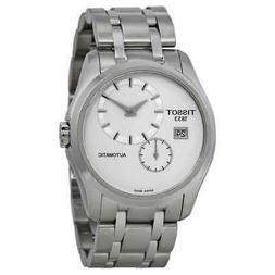 Tissot Couturier White Dial Stainless Steel Automatic Men's
