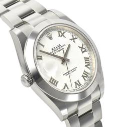 Rolex Datejust 41mm 126300 Steel Domed Bezel Oyster White Ro