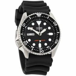 Seiko Divers Automatic Movement Black Dial Men's Watch SKX00