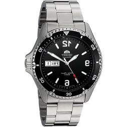 Orient FAA02001B Mako II Automatic Black Dial Stainless Stee
