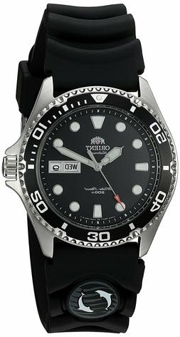 Orient FAA02007B Ray II Automatic Black Dial Rubber Strap 20