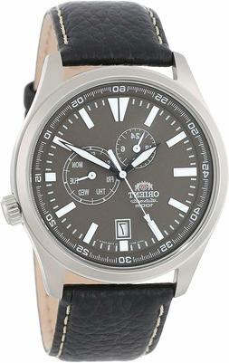 Orient FET0N002K Defender Automatic Gray Dial Leather 100m M