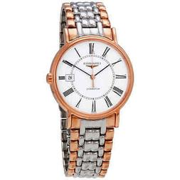 Longines Flagship Automatic White Dial Two-tone Men's Watch