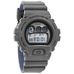 Casio G-Shock Military Grey and Blue Digital Watch DW-6900LU