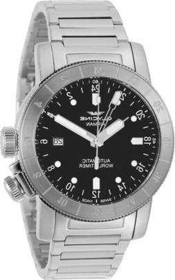 Glycine GL0154 Men's Airman 44 GMT Automatic 44mm Stainless