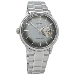 Orient Helios Open Heart Grey Dial Men's Automatic Watch RA-