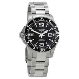 Longines HydroConquest Automatic Black Dial Men's Watch L3.7