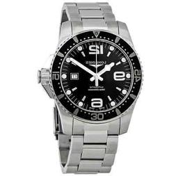 Longines Hydroconquest Automatic Black Dial Men's Watch L3.8