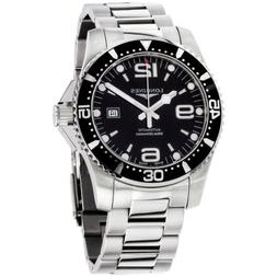 Longines HydroConquest Automatic Movement Black Dial Men's W
