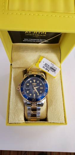 Invicta Men's 47mm Grand Diver Automatic Two Tone Blue Dial