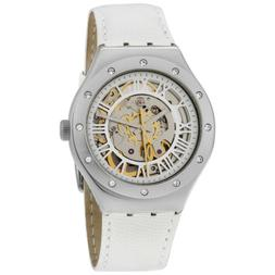Swatch Irony Automatic Movement Silver Dial Ladies Watch YAS