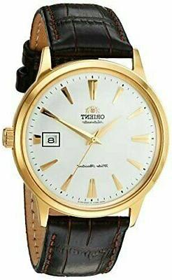 Orient 2nd Generation Bambino Dome Crystal Automatic Gold Me