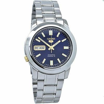 5 automatic snkk11j1 blue dial stainless steel
