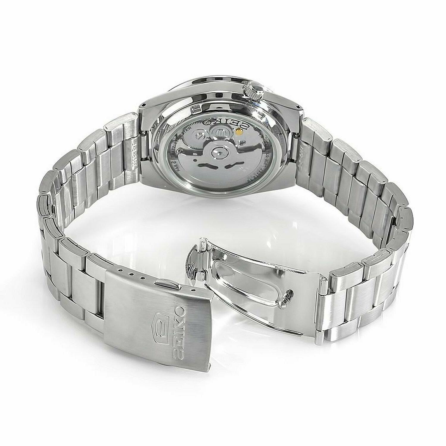 Seiko 5 SNKD99 Day-Date Stainless Steel Men's